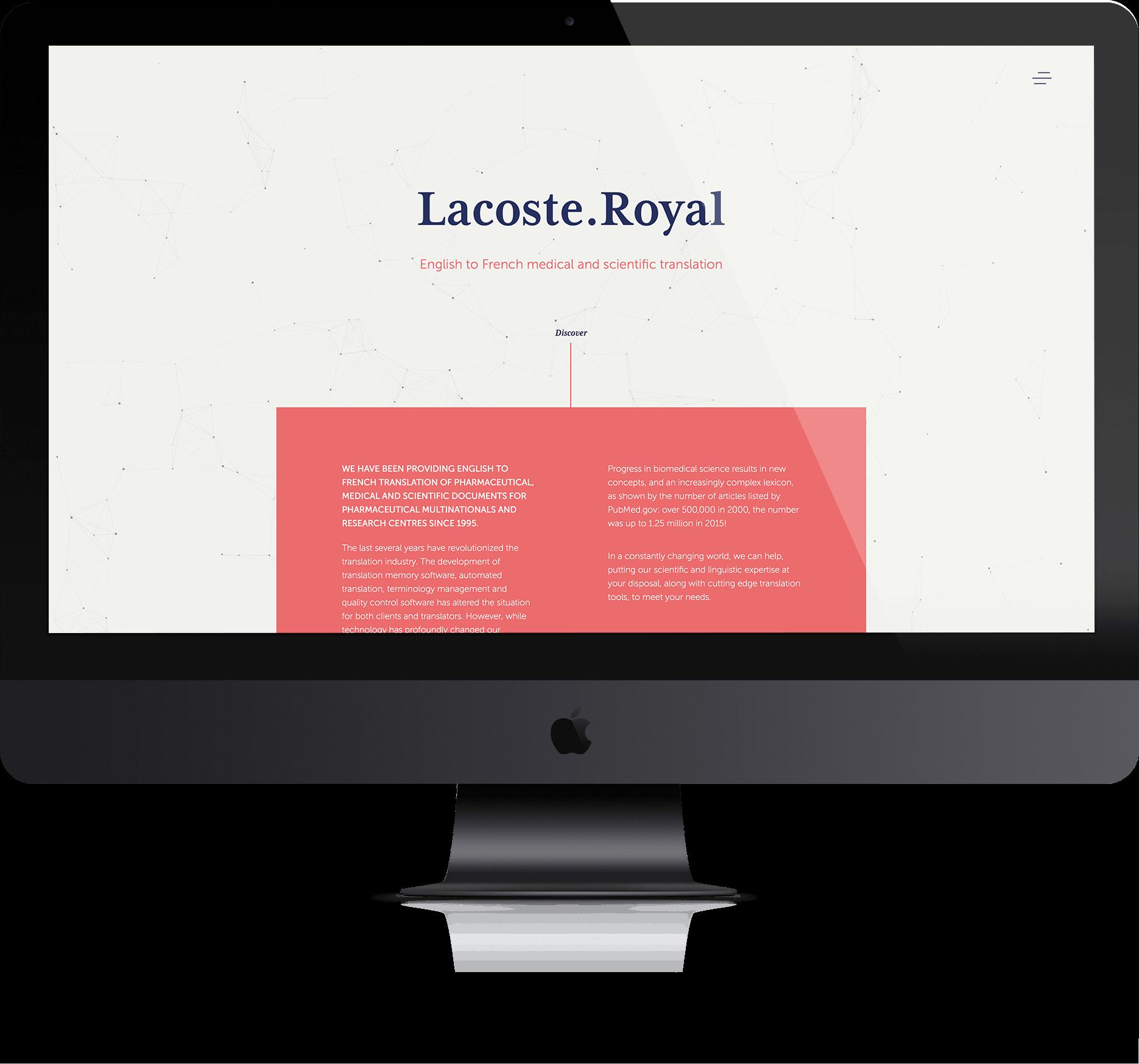 Lacoste Royal