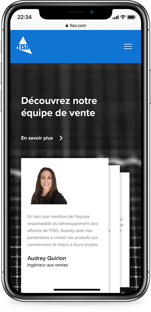 Exemple mobile de fiso
